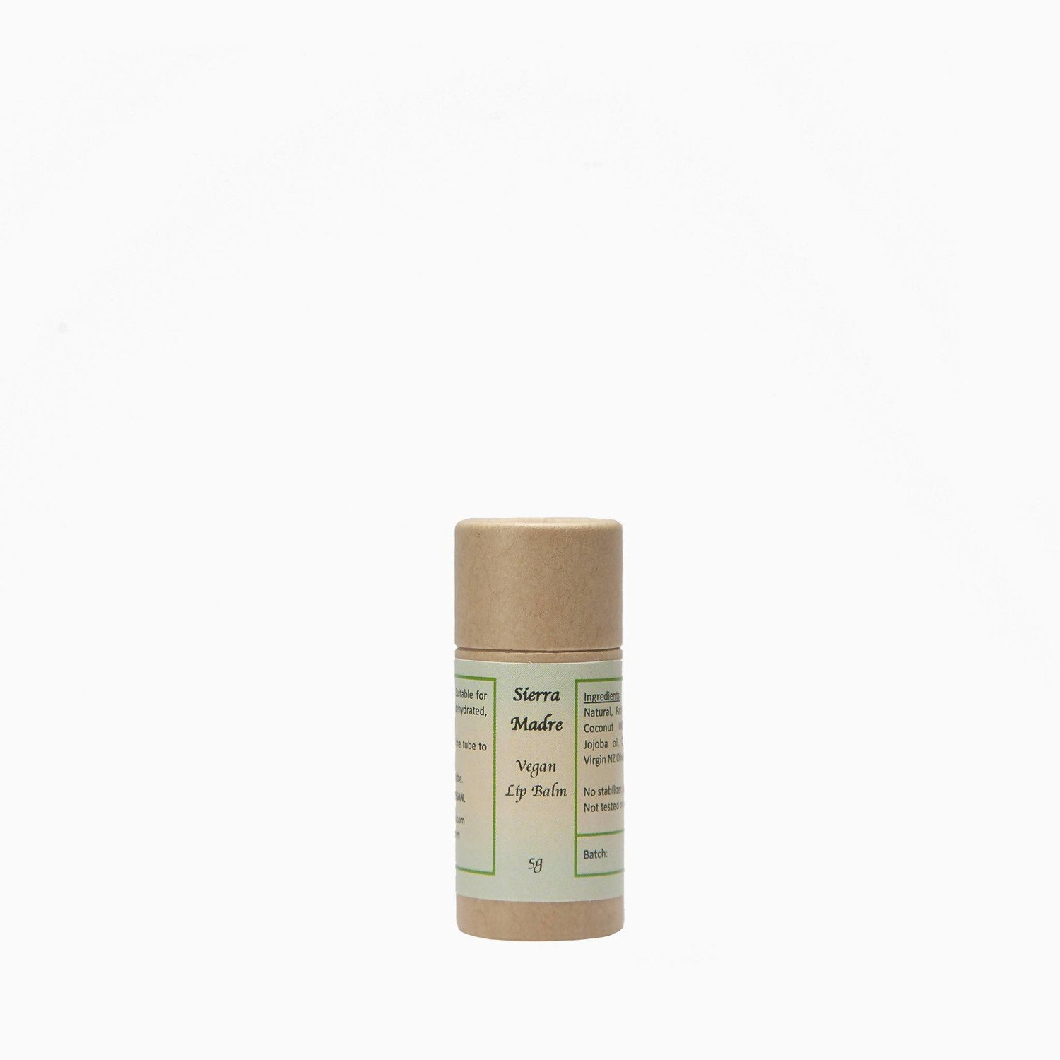 Sierra Madre VEGAN Lip Balm