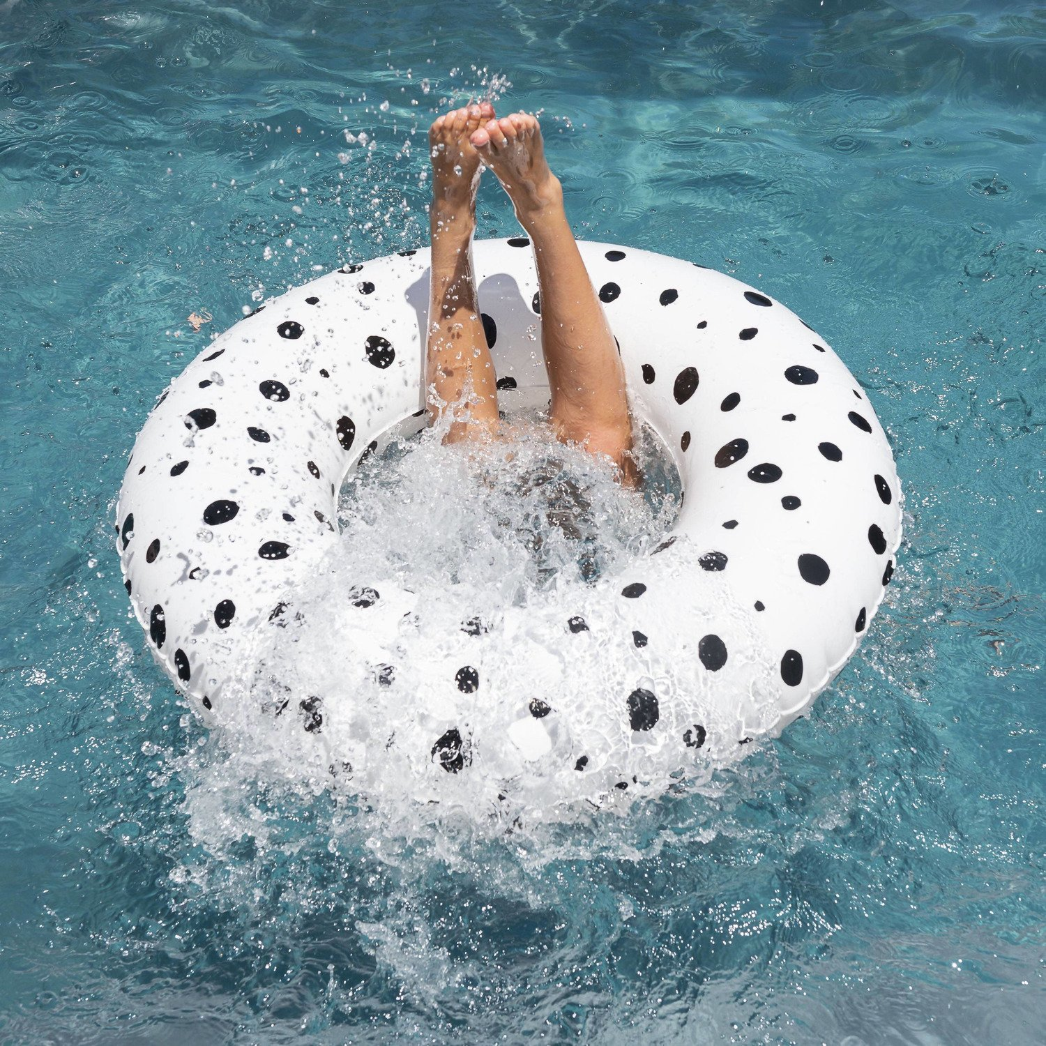 KIDS TUBE FLOAT - BUBBLE WHITE